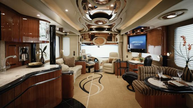 8 Luxury Coach Interiors You Wont Believe The Coach