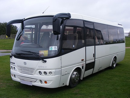 23 Seat Standard Coach Ext with Air con
