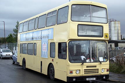 86 Seat Standard Double Decker Bus